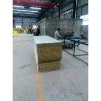 徐州双盛达 供应活动房屋面墙面 950岩棉彩钢夹芯板价格优惠