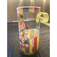 温州pvc带提手圆筒价格生产