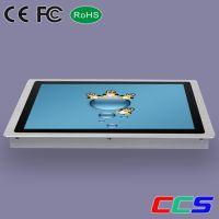19寸3MM超薄嵌入式工业十点电容触摸产品 4:3正屏工业级显示器