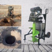 植树打坑挖窝机 启航栽柱子挖坑机 螺旋打窝机哪里有卖