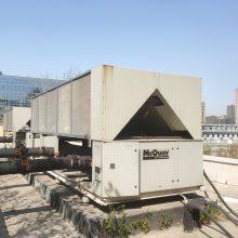 汉钟水源热泵机组进水维修处理