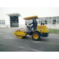 3.5吨压路机 全新3.5吨单钢轮压路机1200型座驾压路机1.2米钢轮座驾压路机