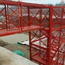 安全爬梯 厂家通达热销桥梁施工爬梯香蕉式爬梯