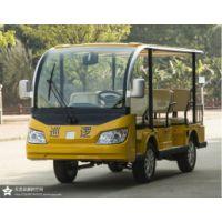 EXCAR电动观光车G1S8座进口配置升级交流系统动力强劲性能优越!