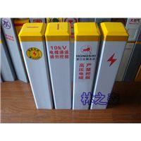 燃气玻璃钢标志桩价格 玻璃钢警示柱厂家