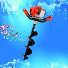 新款单人可操作的发电桩打眼机 启航光伏发电钻孔机 柚子园施肥挖坑机批发