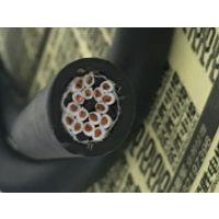 高柔性耐磨电缆 机器人用防海水电缆4*0.75SQ 高柔电缆厂家