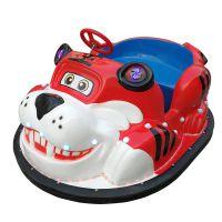 新款老虎碰碰车 户外儿童游乐车 亲子互动电瓶车