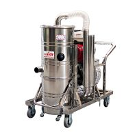 威德尔汽油机工业吸尘器QY-75J道路养护吸石子泥土用吸尘器