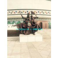 公园雕塑男女演员跳蒙古舞蹈造型铸铜雕像蒙古族风俗表演者玻璃钢塑像