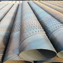 潍坊深井用-桥式滤水管Φ273壁厚2-6mm圆孔滤水井壁管