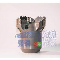 (强锢)加强型金刚石复合片钻头113内凹三翼PDC钻头 无芯钻头 不取芯钻头