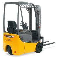 永恒力1.0吨电动平衡重叉车 EFG110 叉车出租 三轮车