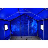 帆布工地工程施工帐篷 加厚防雨军工用棉帐篷 野外养殖养蜂帐篷,双层帐一居室
