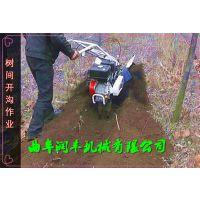 润丰节能田园管理机 施肥管理机 开沟压土机一机多用