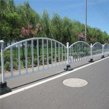 潍坊交通护栏 京式道路护栏 道路隔离栏广告