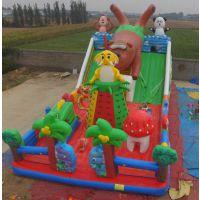 儿童拓展设备大型充气城堡滑梯 充气龙凤娱乐城淘气堡 攀岩滑梯组合熊出没