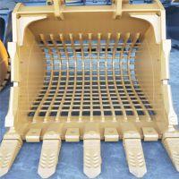 卡特323挖机漏斗 筛选斗格栅斗 挖机配件厂家