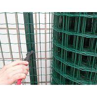 1.5米高散养猪、养鸡铁丝网,结实耐用绿色包塑养殖网
