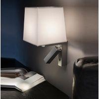 高端酒店LED阅读壁灯加布罩壁灯 卧室客房床头LED壁灯