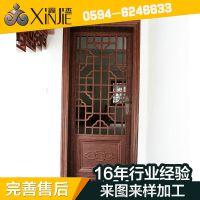 生产供应 别墅庭院铸铝门 精雕防盗推拉铸铝门XJ-8626门窗防盗门