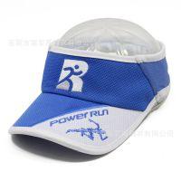 运动空顶帽子定制 户外遮阳空顶帽 厂家定制马拉松帽 空顶跑步帽