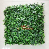 仿真植物价格哪家实惠?浩晟仿真草皮搭配配件装饰是影楼 道具墙可定制上门安装
