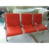 三人排椅带坐垫*车站排椅*304排椅