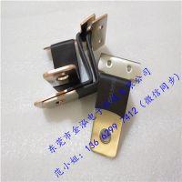 金泓厂家直销电池铜排导电带叠片式PVC绝缘软铜排