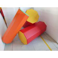 儿童体适能训练器材海绵八角形圆柱少儿体能感统八角柱后手辅助器沧州100*30cmET1004