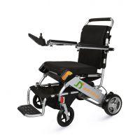 金百合D05超便携电动轮椅车铝合金可折叠残疾人老年人代步车