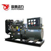 供应潍坊40kw柴油发电机组 可移动式静音发电机组配上海全铜电机