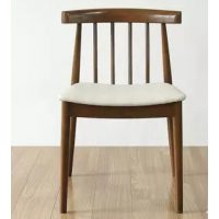 倍斯特北欧温莎实木椅创意中餐奶茶厂家定制