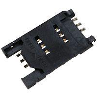 东莞 SOFNG SIM-011B 尺寸:29.65mm*17.2mm*2.5mm SIM卡连接器