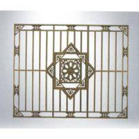 专业定制海南三亚各种 美式镂空隔断屏风 复古铝板浮雕 雕花镂空屏风