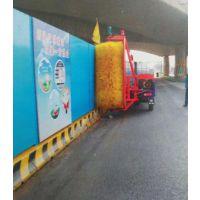 云南省建筑工程环保工地围档清洗机设备华祥厂家
