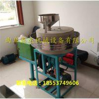 厂家直销电动面粉石磨机 大米石磨机 曲阜鼎达粮食加工设备