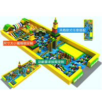 四川南充室内大型EPP积木城堡儿童主题乐园设计方案