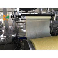 腐竹生产设备配用三连磨浆机,黄豆浸泡系统 豆油皮生产线 哪个牌子的腐竹设备好用