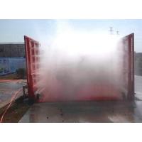 章丘工地洗车台价格 济南建筑工程洗轮机设备厂家华祥安装价格