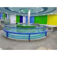 豪华玻璃池(钢化玻璃)