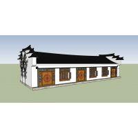 绿墅智家——古典徽派建筑 HPM1123