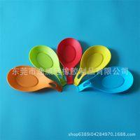 食品级硅胶勺托 搁勺器勺子垫筷子架置物垫 ODM硅胶厨房工具