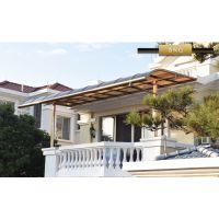 富诺尼华 挡雨棚 庭院遮阳棚 R型 L型 多种款式工厂定制 铝合金耐力板材质