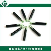 真正源头厂家 动物皮下植入式RFID生物玻璃管电子芯片,PIT注射