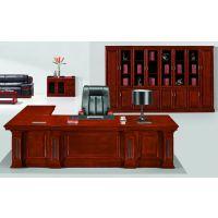 茂林办公家具ML-3658大班台 专业油漆木皮办公家具