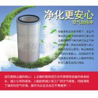 制氧站制氧机抽吸引风机净化器空气除尘滤筒320*750 润科过滤制造
