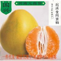 福建闽南台湾柚子黄肉柚新鲜水果琯溪蜜柚平和柚皮薄内膜如面膜电商货源供应一件代发包邮