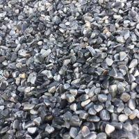 博淼机制天然洗米石 水磨石 人工板材五彩石