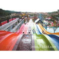 供应彩虹滑梯水上游艺设施 彩虹竞赛滑梯玻璃钢滑梯
